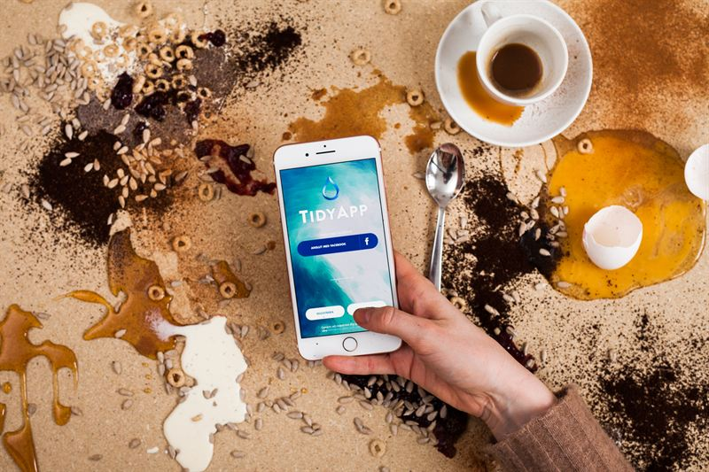 TidyApp is a quick solution to a messy home