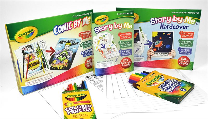 Crayola® and Lulu Jr ™ Turn Kids' Stories into Real Books - Lulu Press
