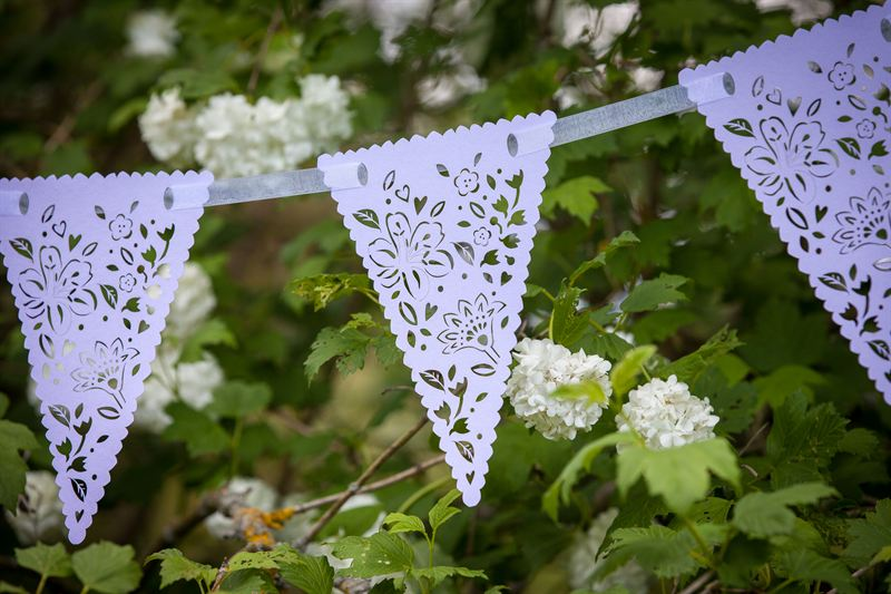 Complete Your Secret Garden Party Theme With Beautiful Bunting