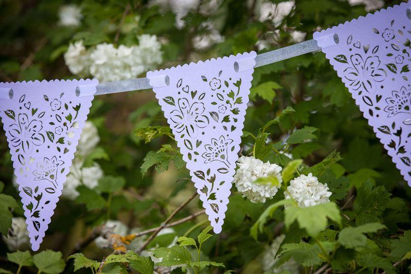 Beautiful Floral Hanging Bunting