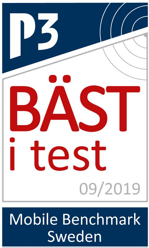 P3 Connect Mobile Benchmark 2019 Ba st i test