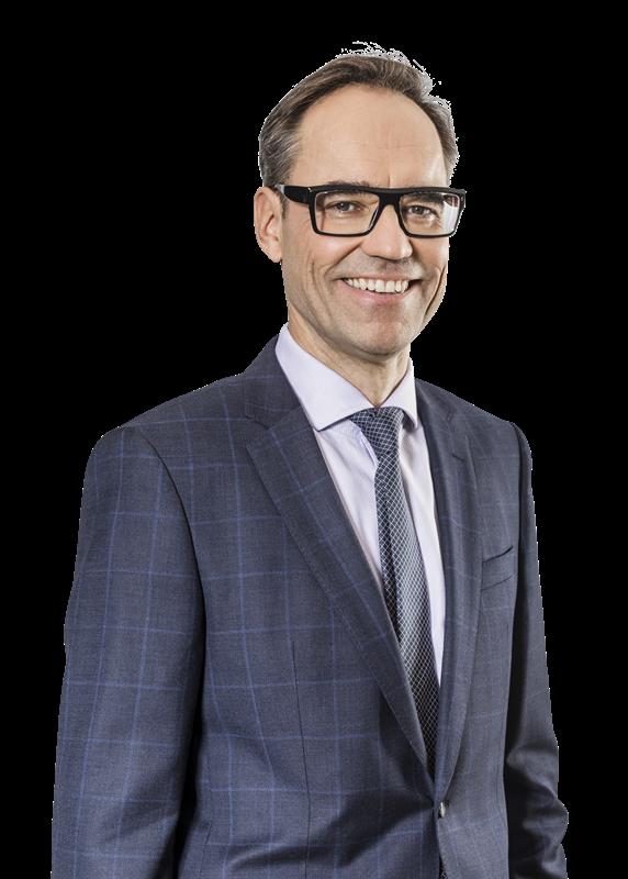 Timo Katajisto, verkställande direktör, företagskunder från Elisa.
