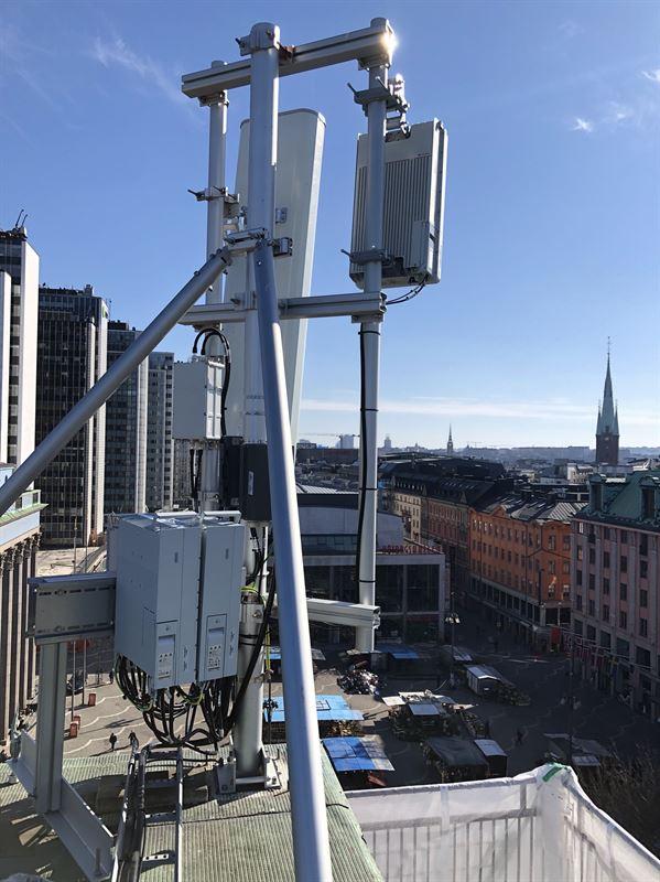 Tele2 5G-mast 1