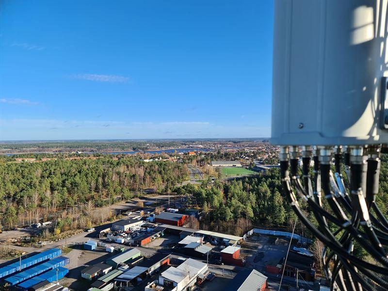 Tele2 5G-mast i Strängnäs