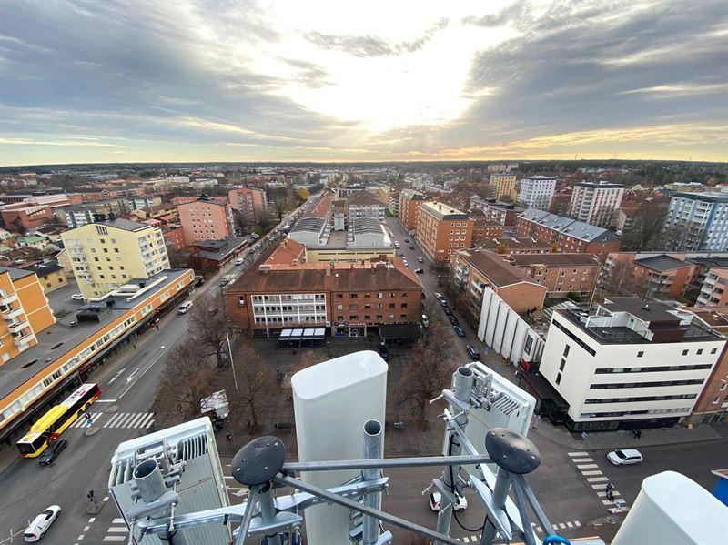 Bild 5G i Gävle Tele2 2