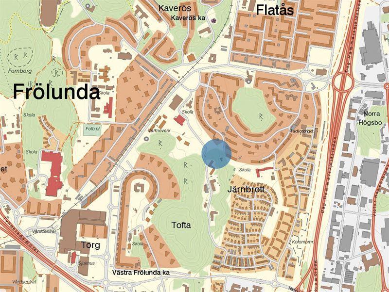 karta göteborg med omnejd Karta Transistorgatan, Frölunda Göteb  Trollängen Bostad karta göteborg med omnejd