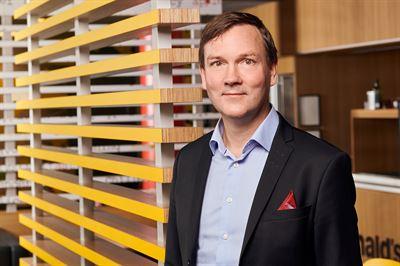 Mats Hörnell ny vd för McDonald´si Norden