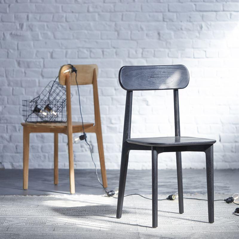 Stuhl aus Teak Jonk 129