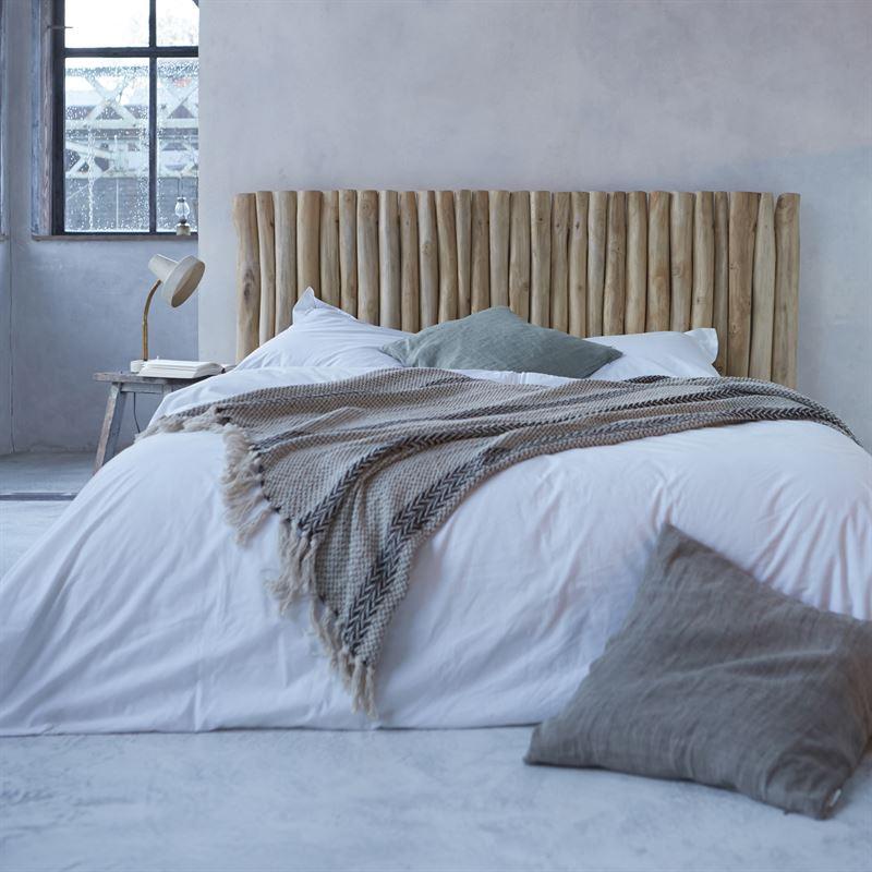 Kopfteil Bett aus Treibholz River 299
