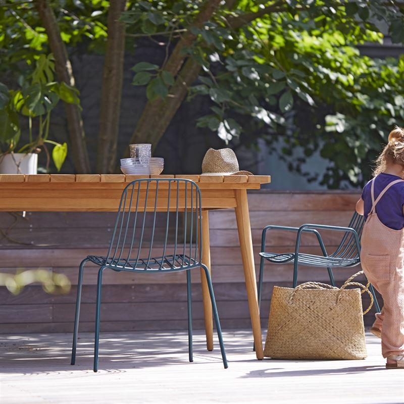 Tikamoon - Table de jardin en teck 180 Vadim - HD 5 - Nicolas ...