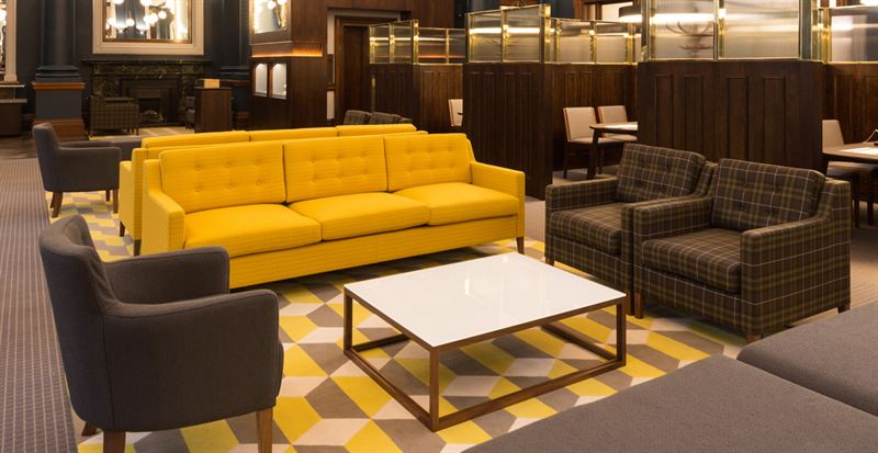 New Lexe seating collection fuses classic with contemporary
