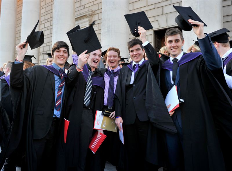Graduation Boys Southampton Solent University