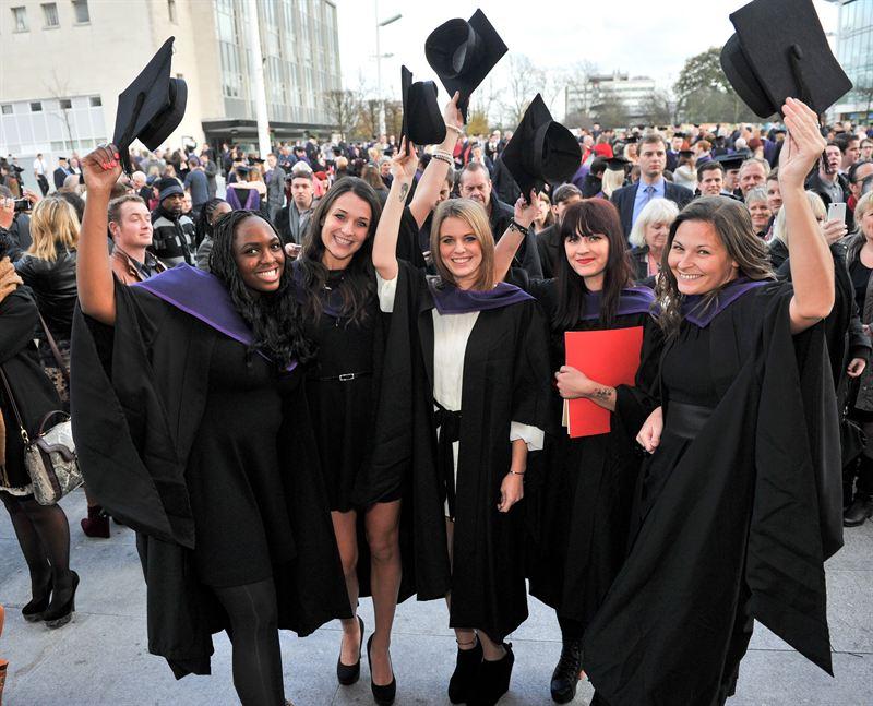 Graduation Southampton Solent University