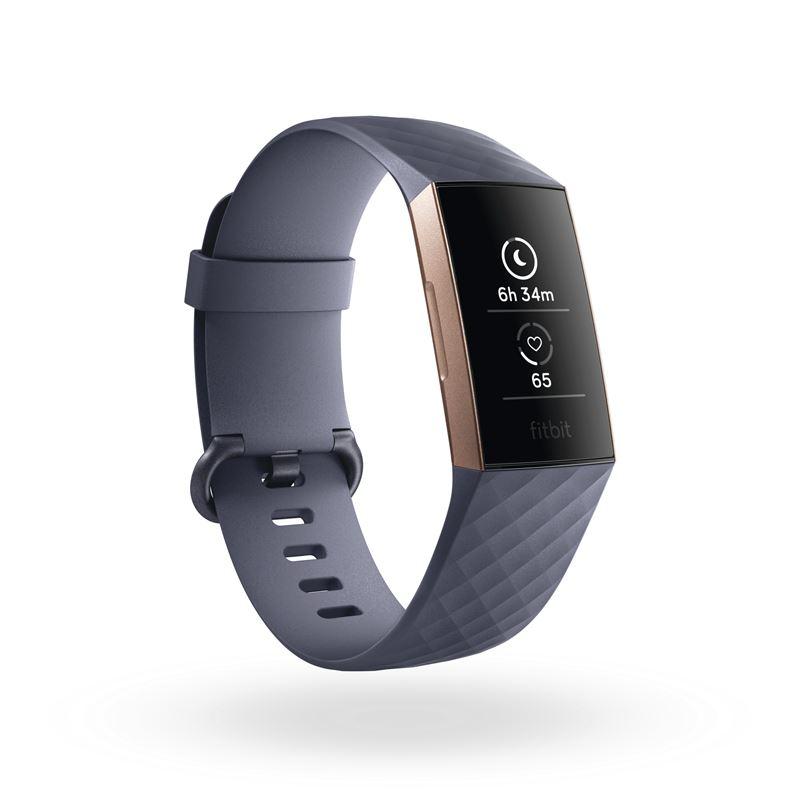 Charge 3 har skapats av Fitbits hittills mest avancerade sensor-och  algoritmteknologi. Den har en stilren och vattentät design 24361c328baef