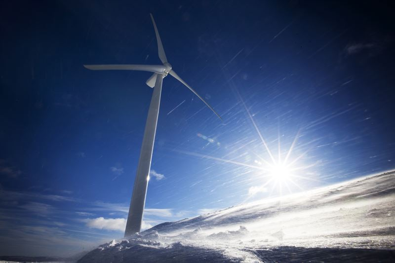 vindkraftparken Uljabuouda