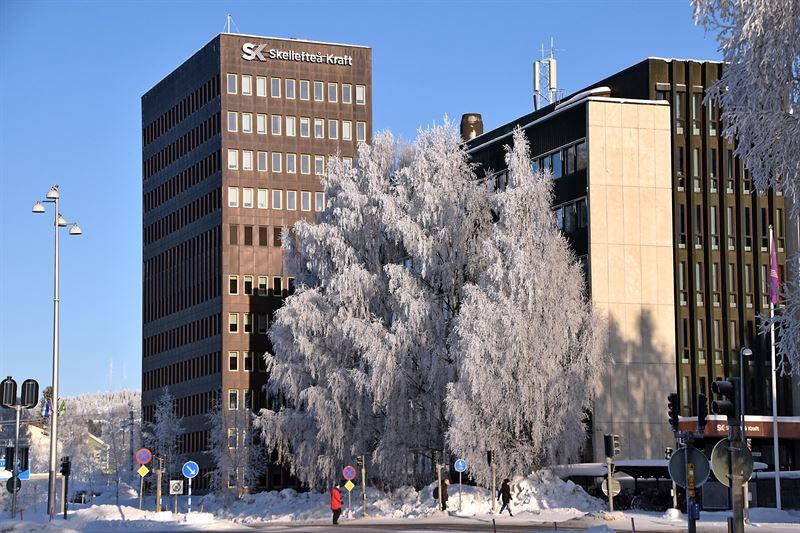 Skellefte Krafts huvudkontor i Skellefte