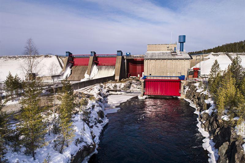 Rengrd vattenkraftverk Foto Cliff Warg