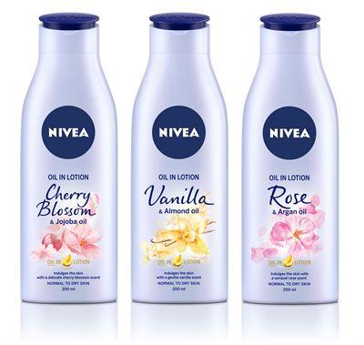 En boost av olja kan pigga upp vintertrött hud inför varmare tider. Nu  lanseras nya NIVEA Body Oil in Lotion – en kroppslotion berikad med olja  och härliga ... 6facd7b83f760