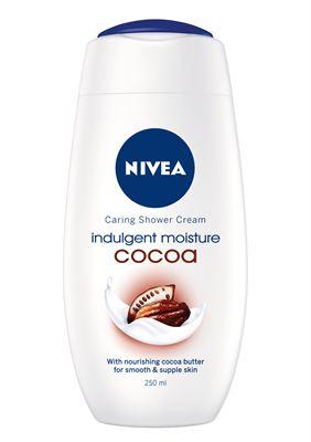 Unna dig en lyxig duschupplevelse med nya NIVEA Indulgent Moisture Cocoa  Shower Cream. Den kakaodoftande duschcremen piggar upp samtidigt som den  rengör och ... c57bc67b69776