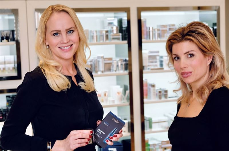 Charlotte Axlund och Michaela Berglund