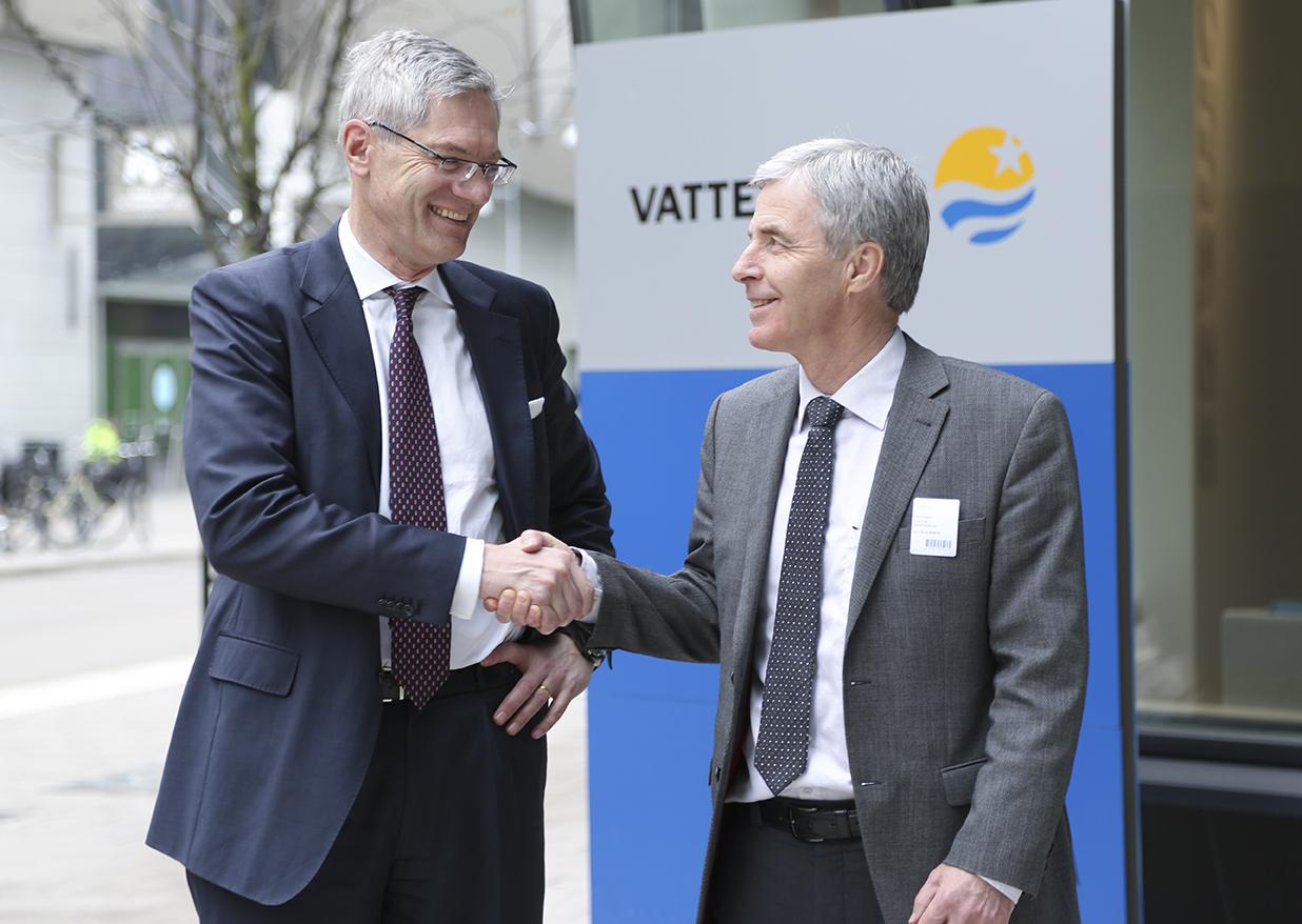 Magnus Hall och Petter Holland