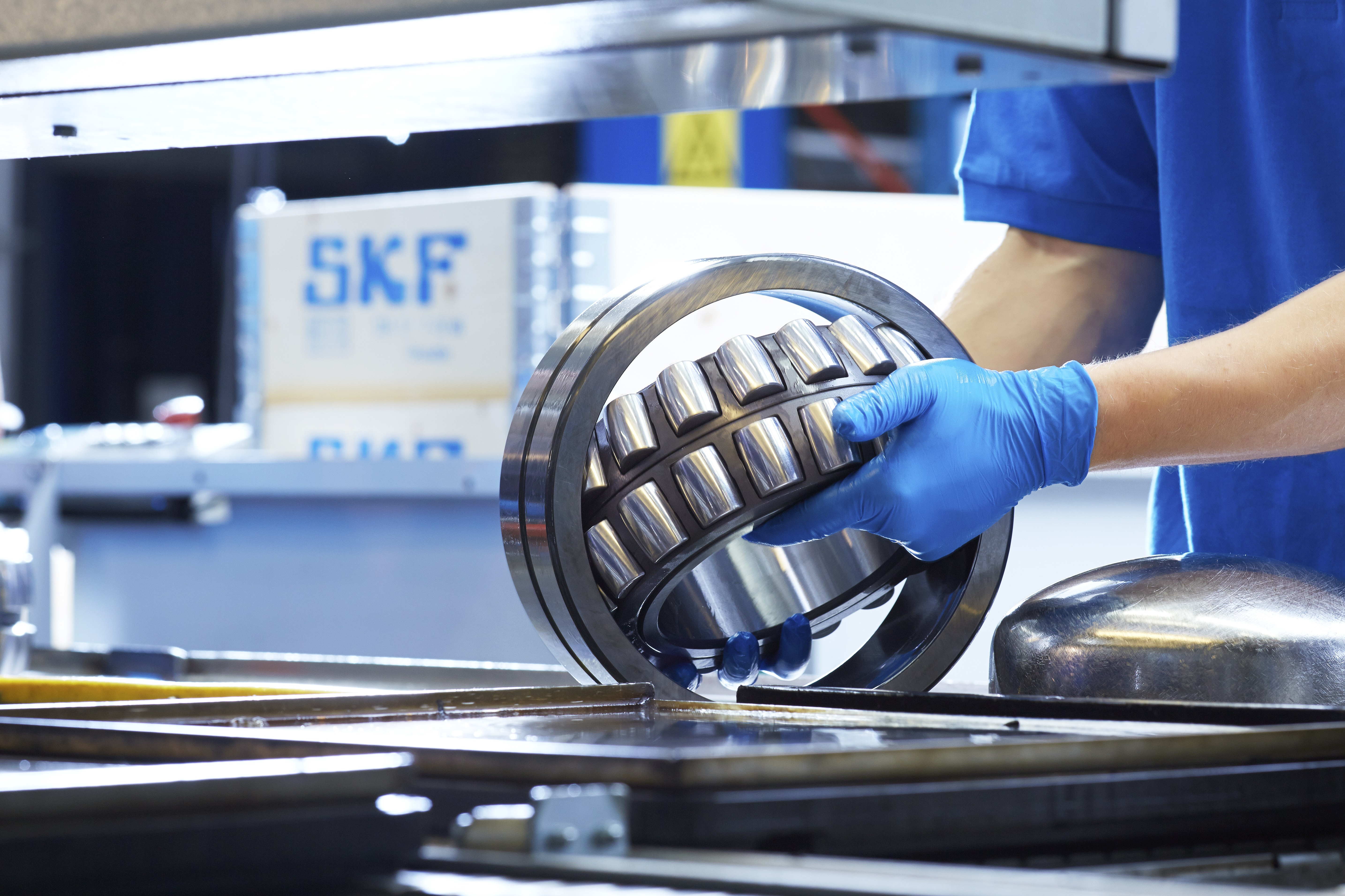 Tillverkning SKF