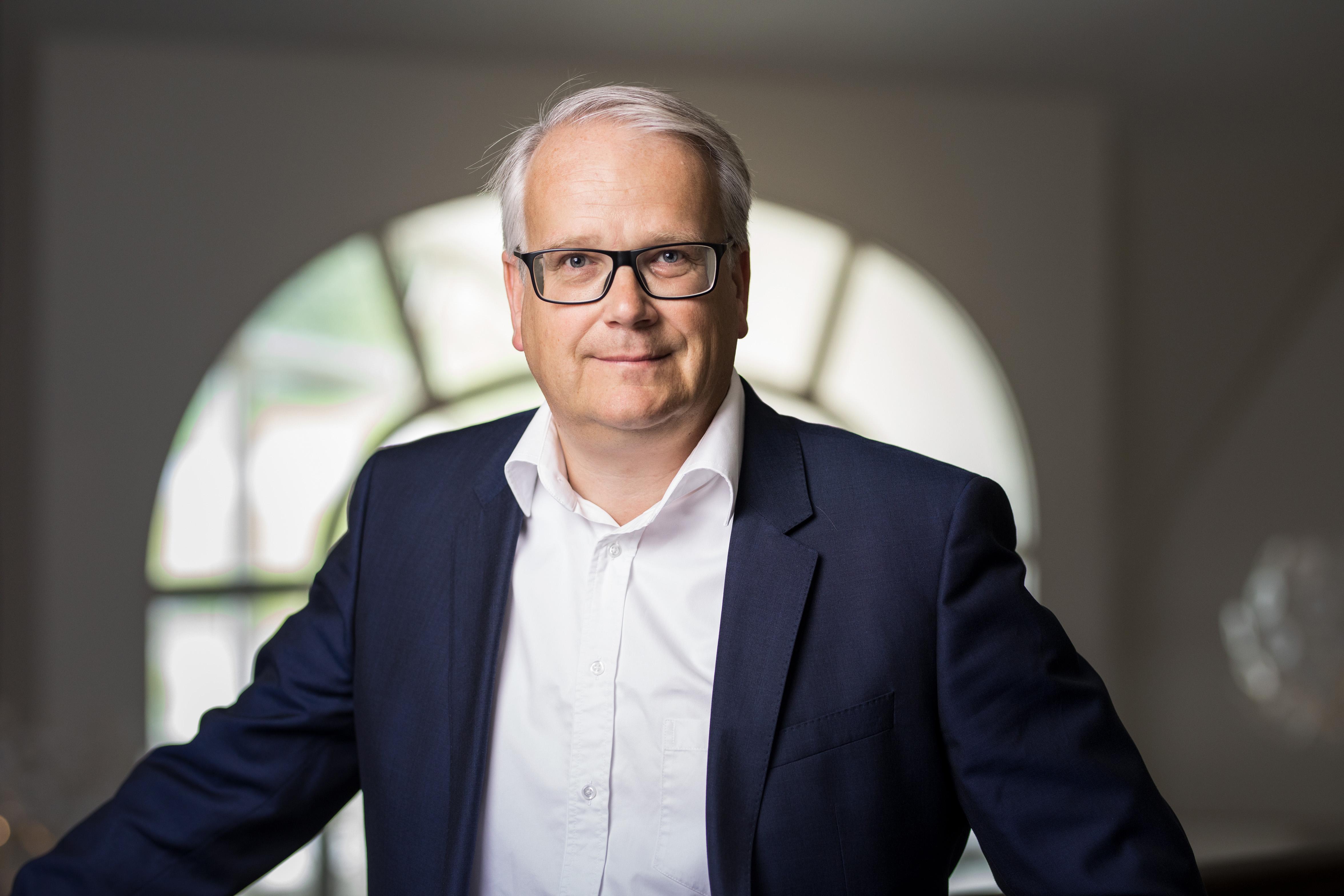 Magnus Ohlsson vd Cementa, Cementa's CEO