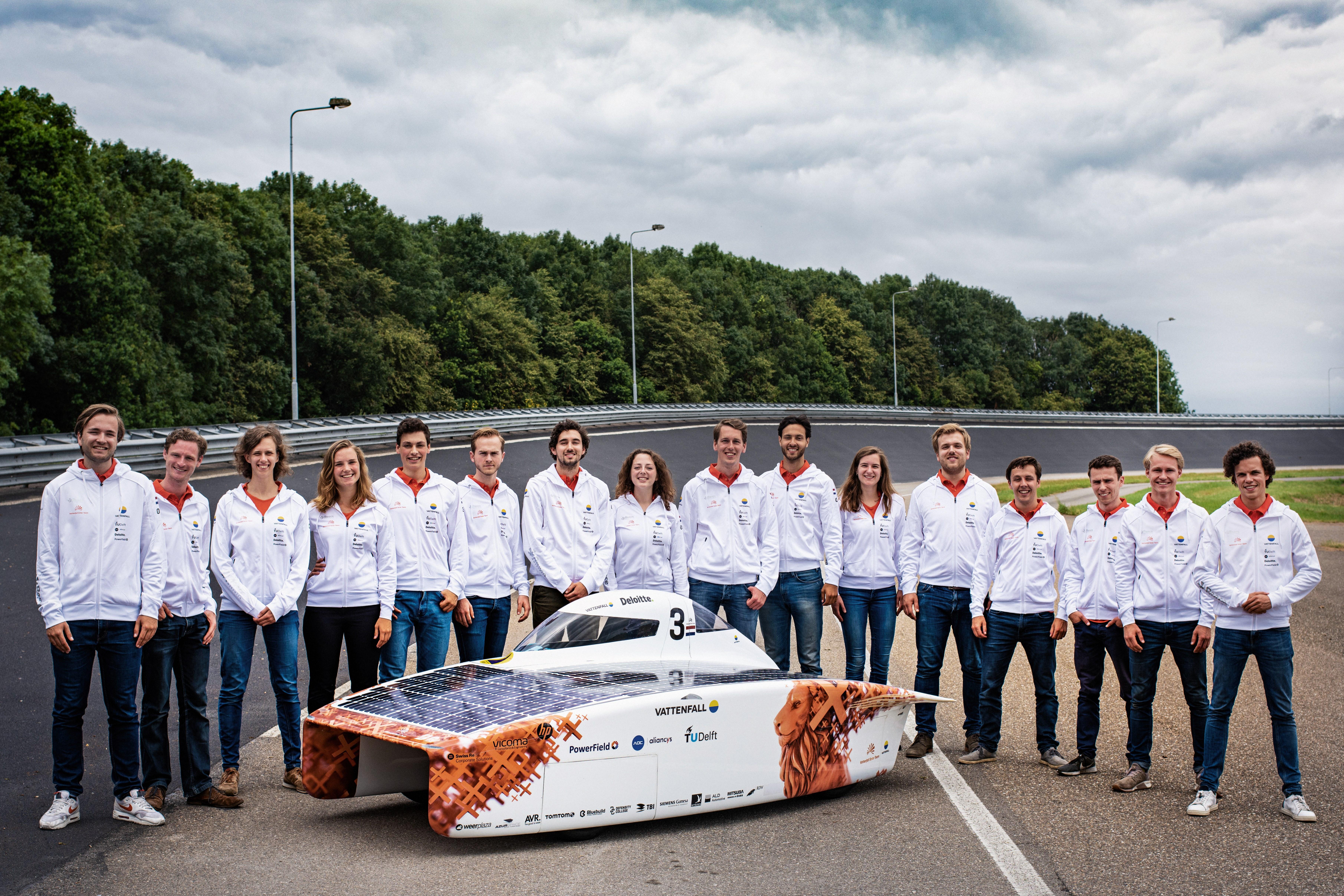 Vattenfall Solar Team och solbilen NunaX
