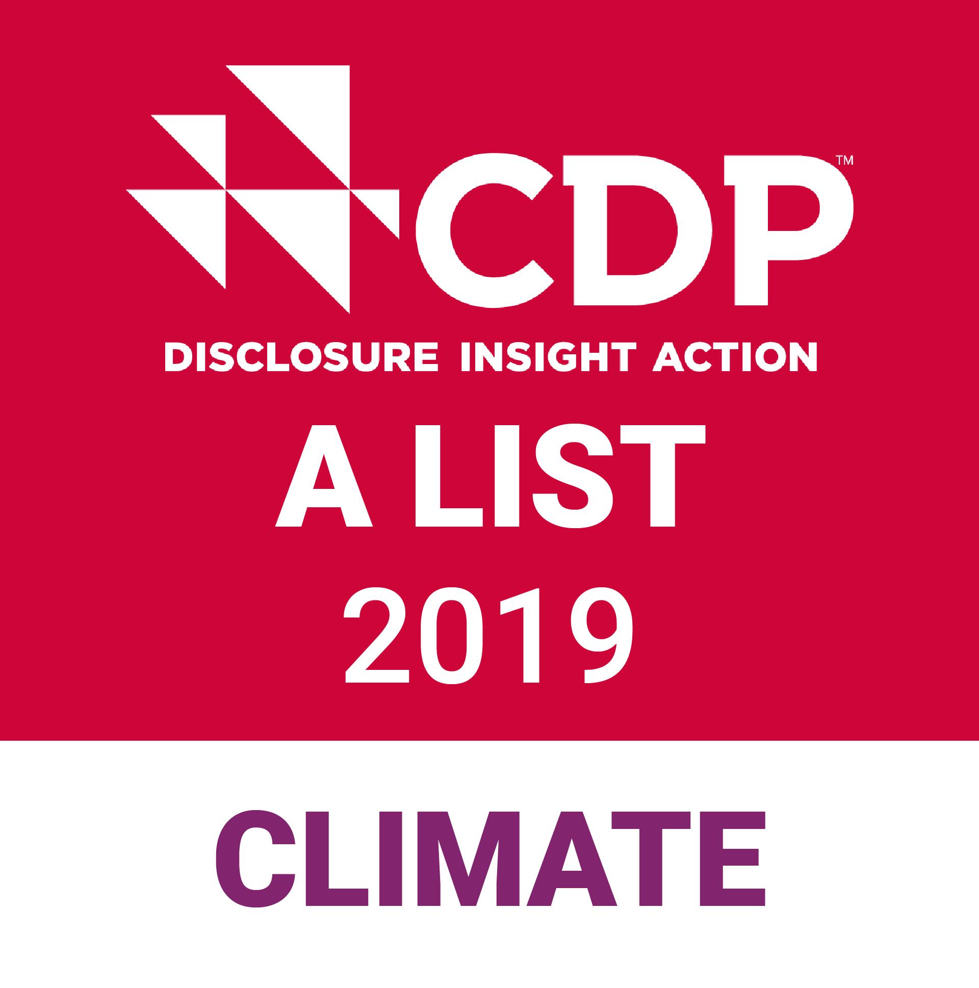 Logotyp för CDP:s A-lista
