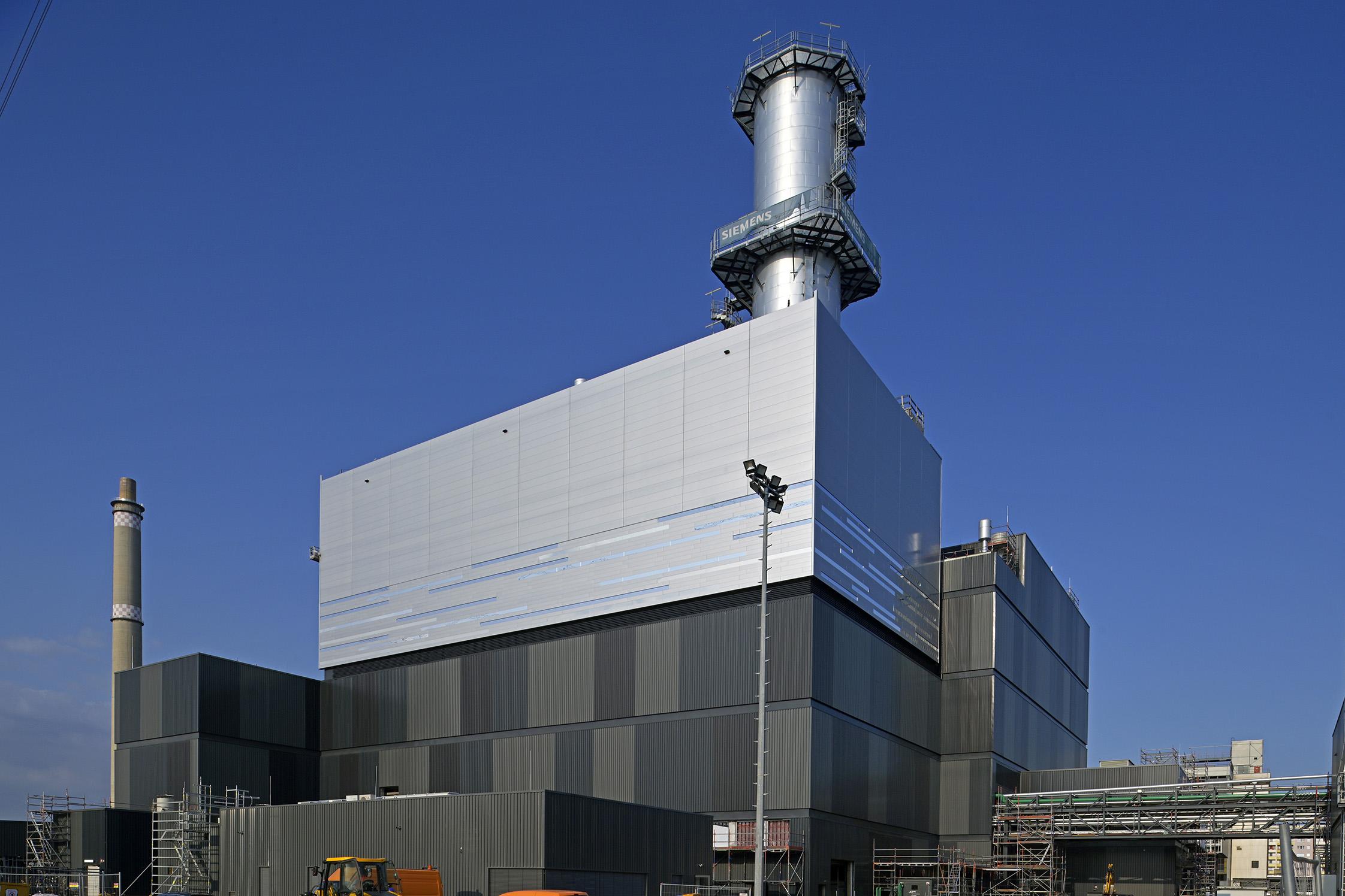 Kraftvärmeverket Marzahn i Berlin
