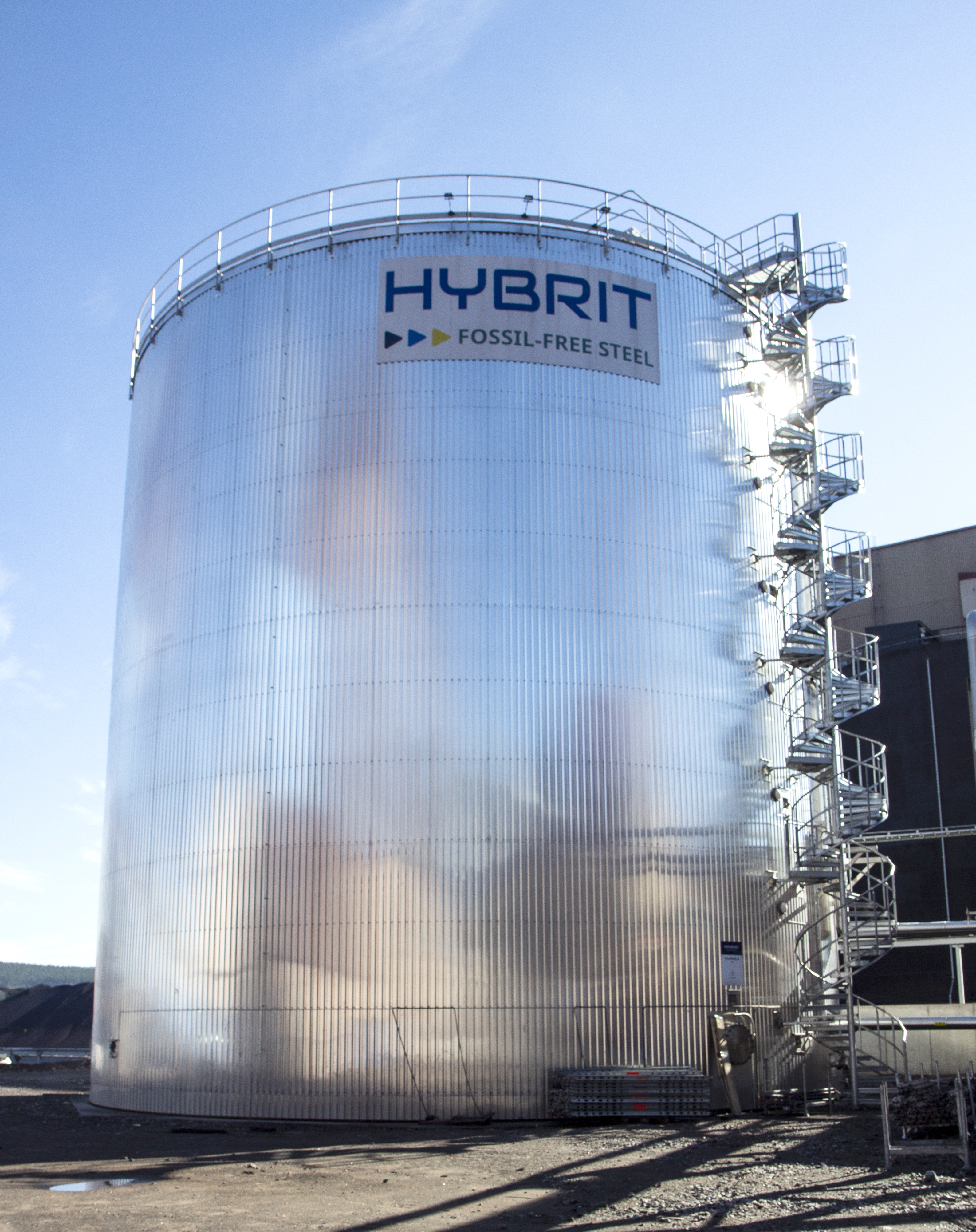 HYBRIT bioolja LKAB pellets