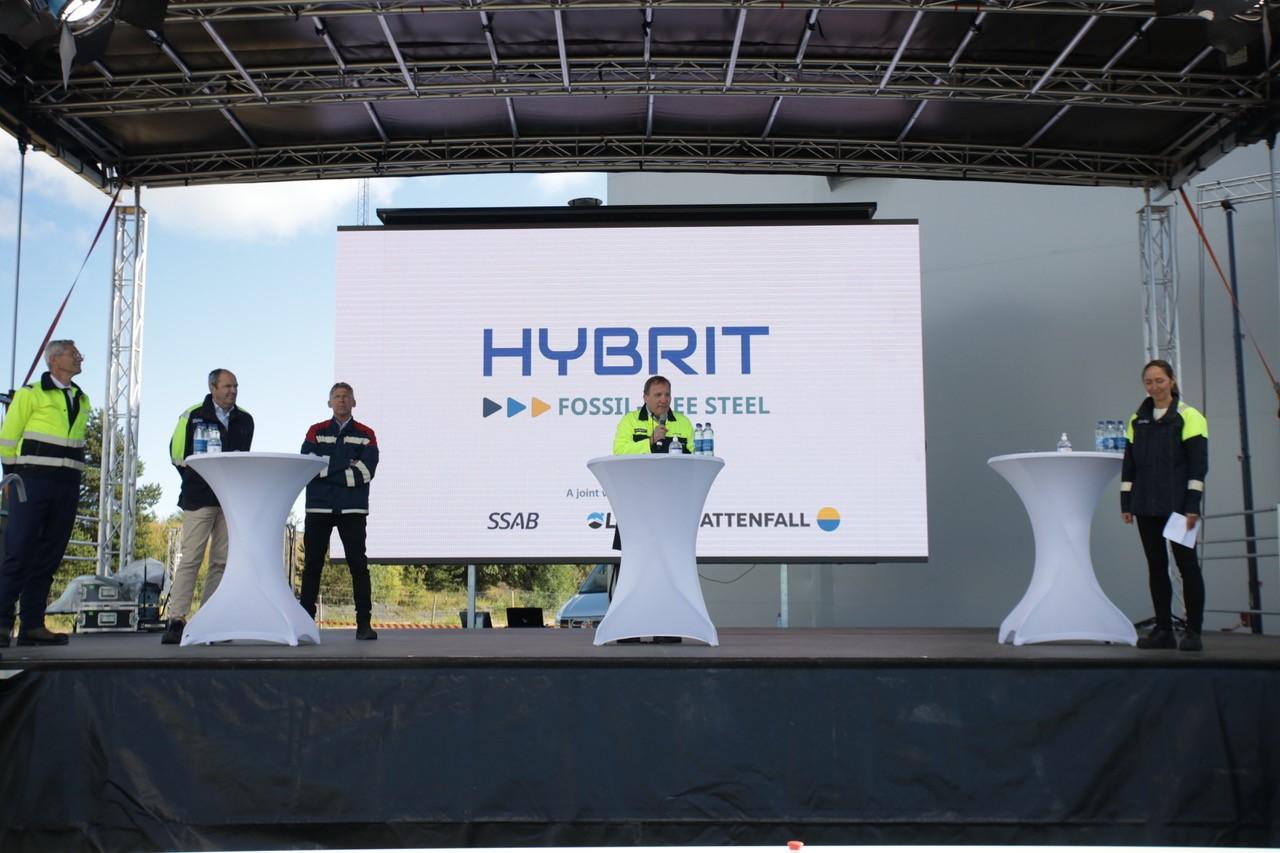 200831 HYBRIT pilot plant starts 3 fotograf Viveka Österman