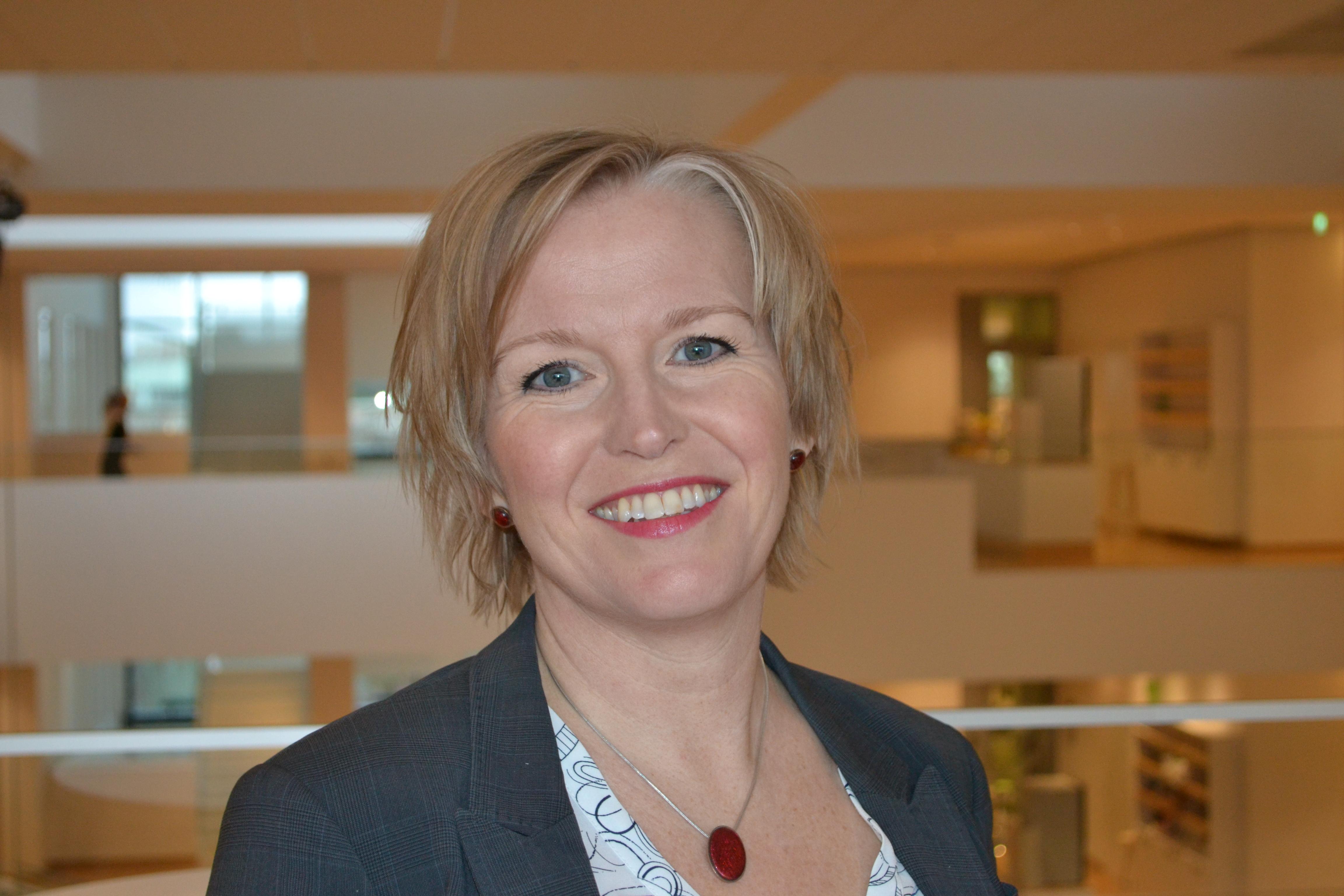 Maria Lindberg, chef elektrifierade tunga transporter på Vattenfall