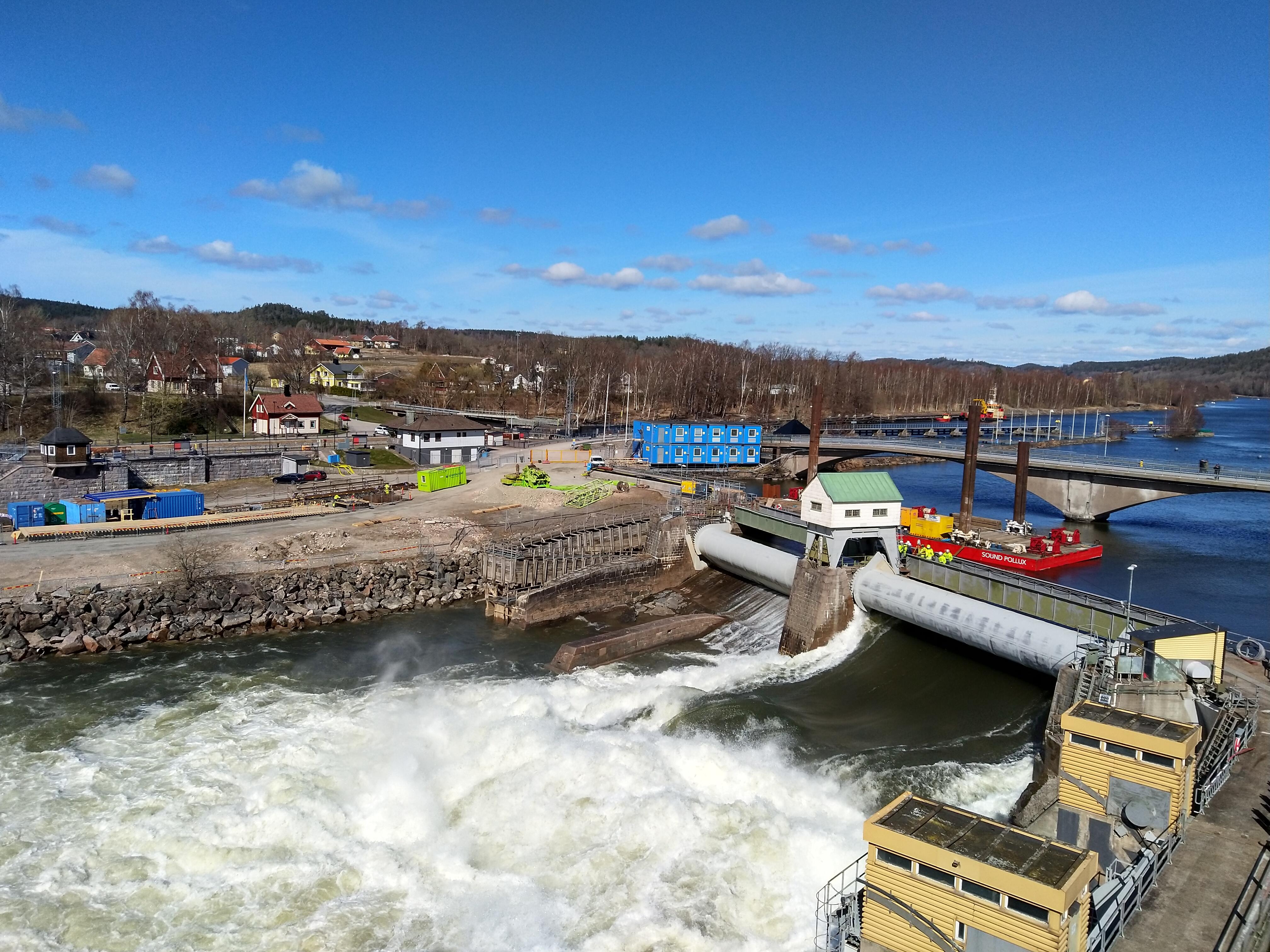 Vattenfall Lilla Edet vattenkraftstation