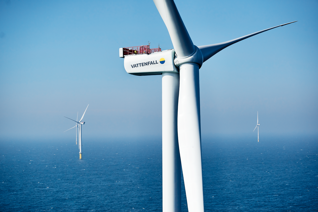 Vattenfall offshore wind farm example