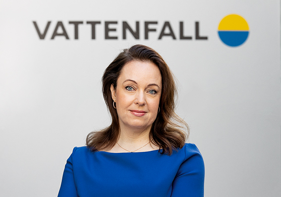 Anna Borg, president and CEO at Vattenfall.