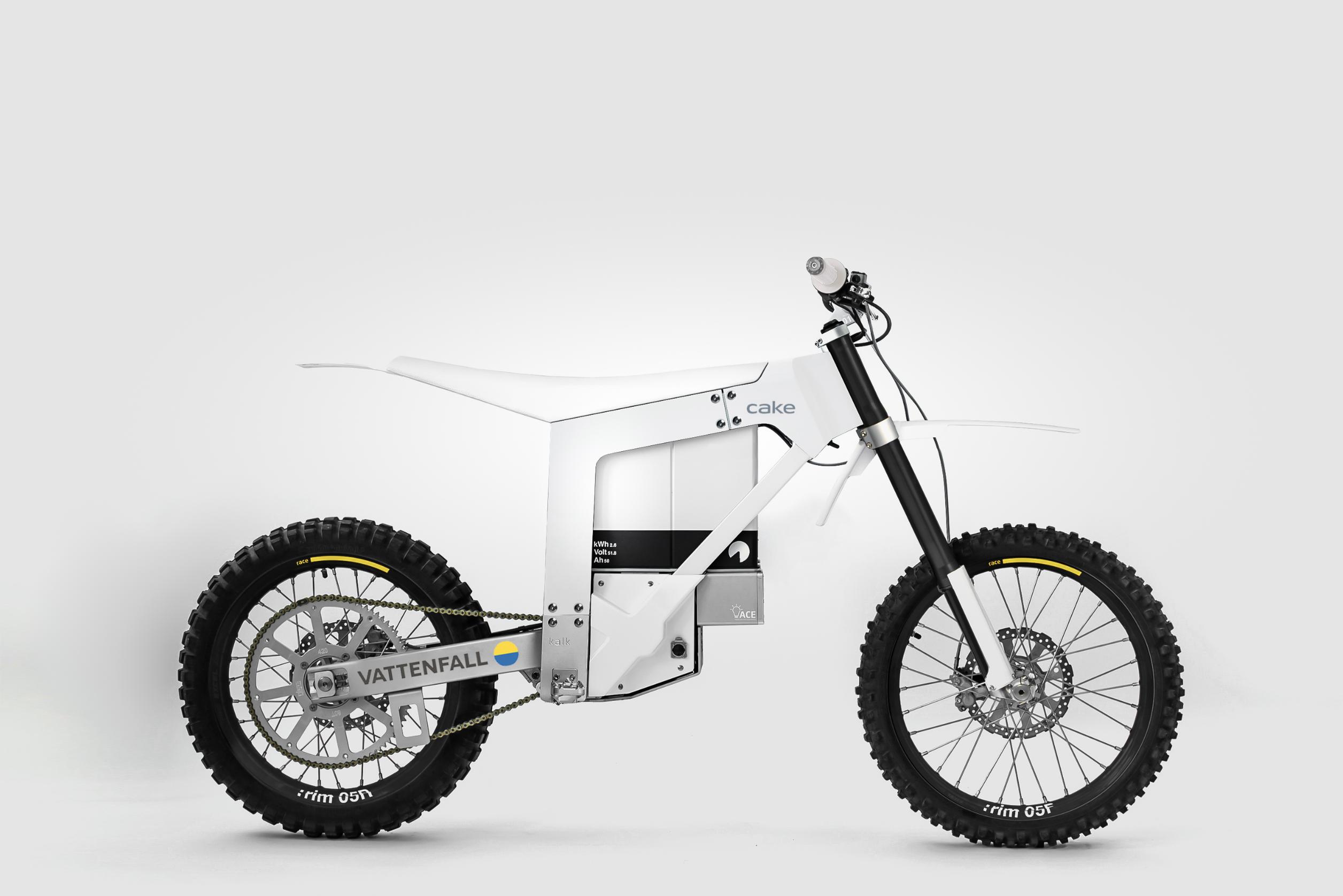 CAKE Vattenfall bike first generation prototype