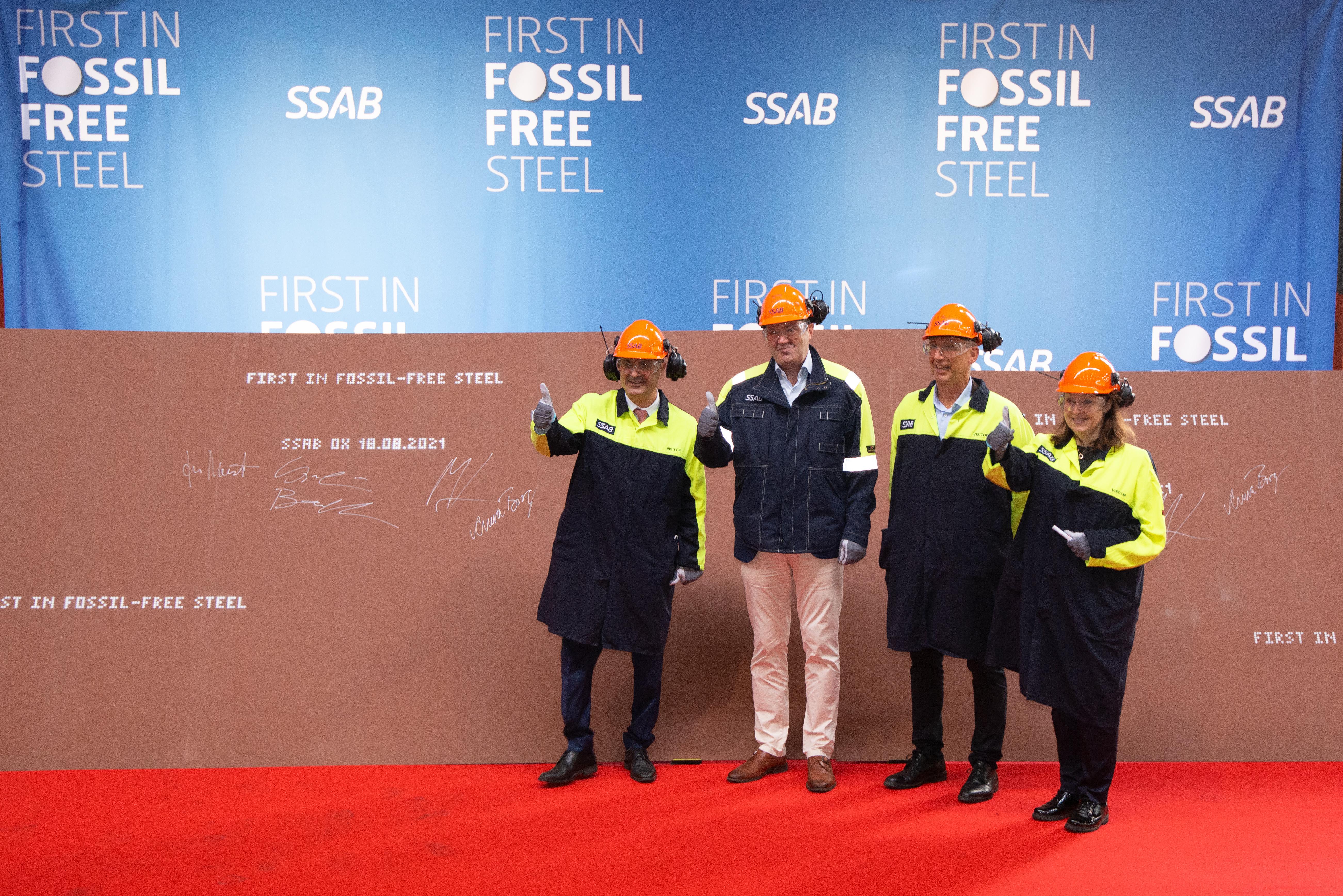 HYBRIT SSAB Oxelösund fossil free steel 2