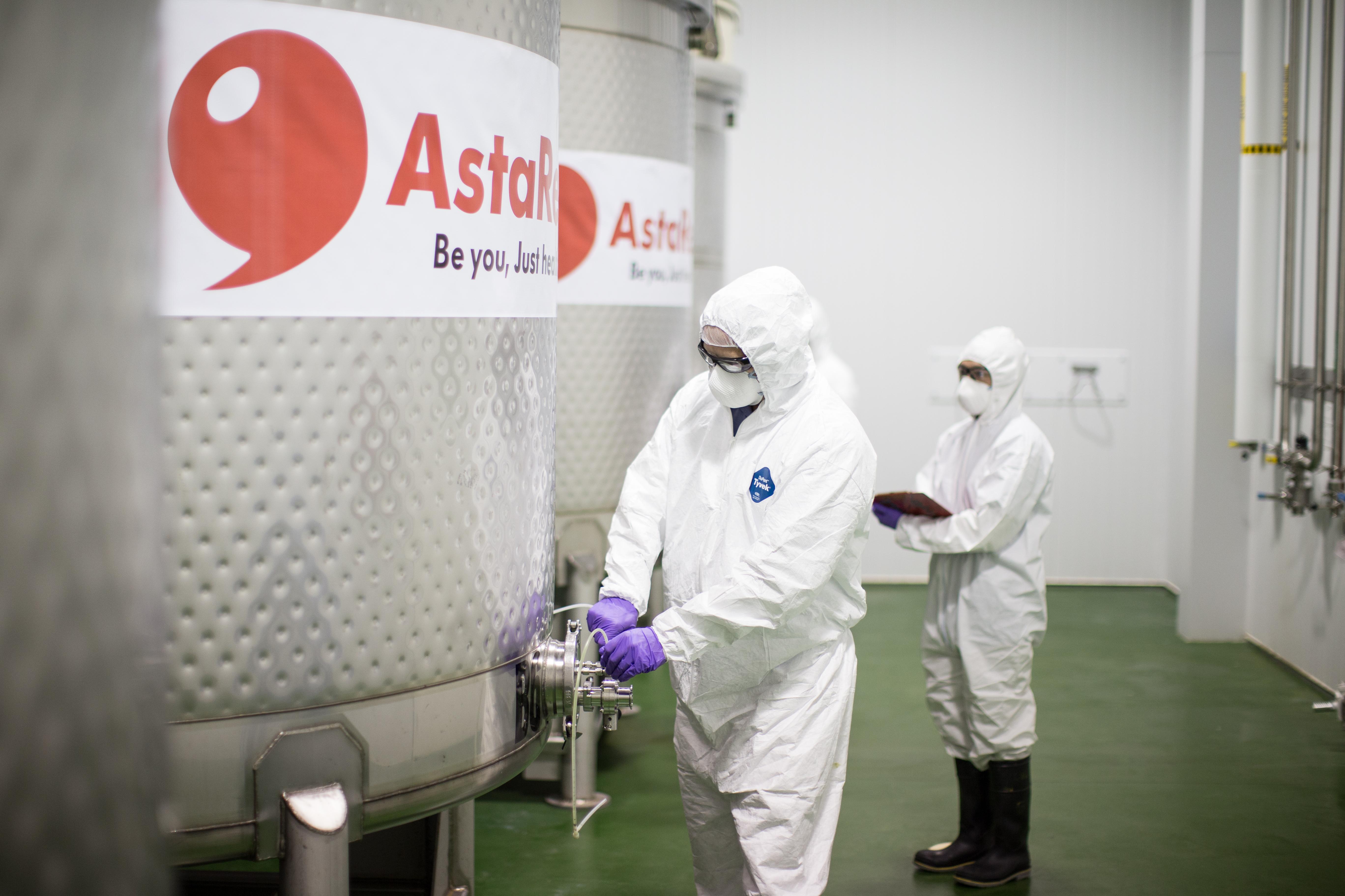AstaReal produktion