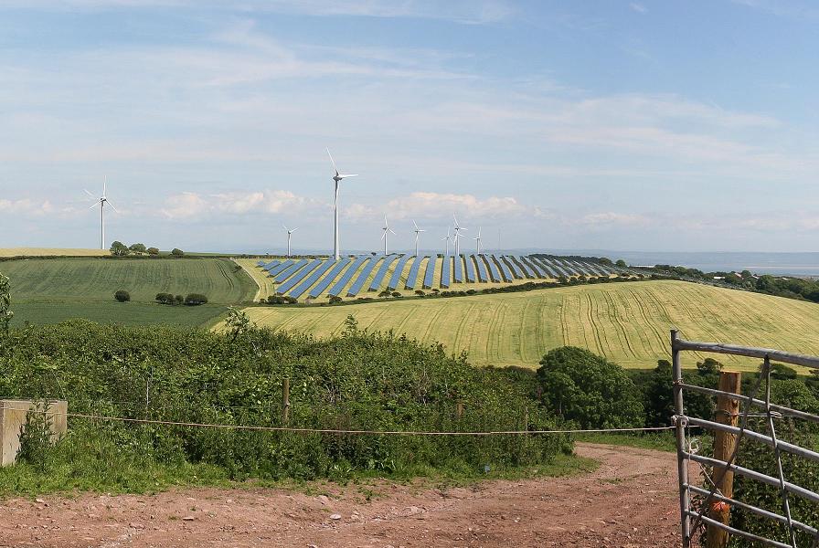 Solkraftspark
