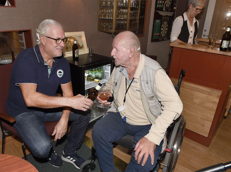 Glenn Hysn med Lars Trnqvist p Otium Foto Tommy Holl