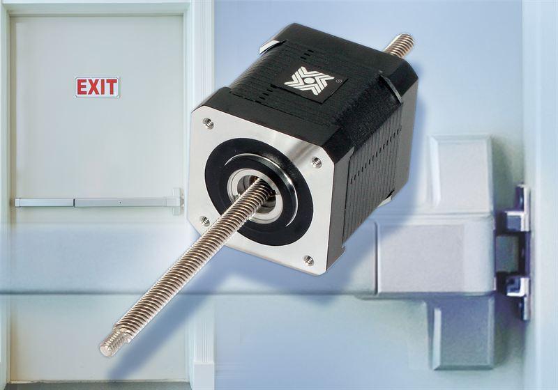Haydon Kerk hybrid linear stepper motor for door locks - AMETEK
