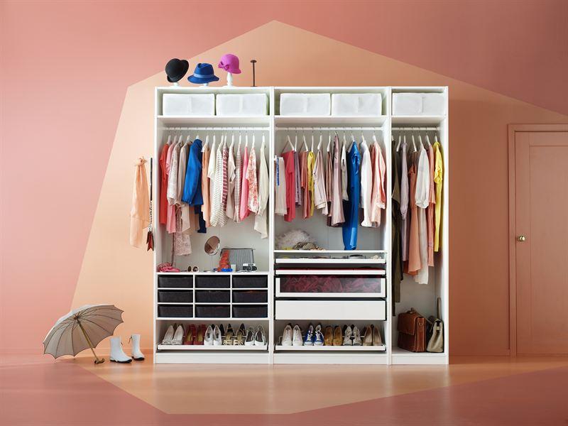 Sm l nningar b st i sverige p att rensa ur garderoben for Armarios de habitacion ikea