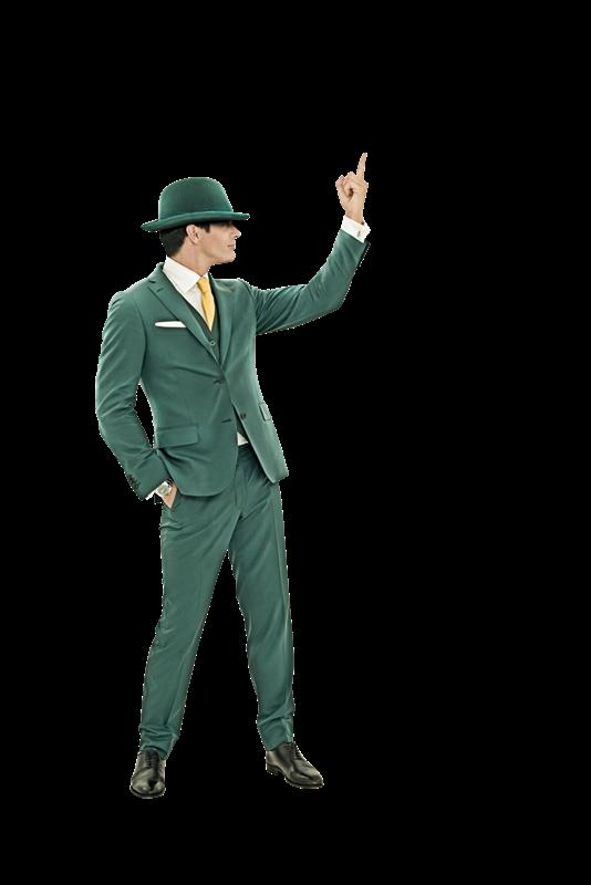 green man casino