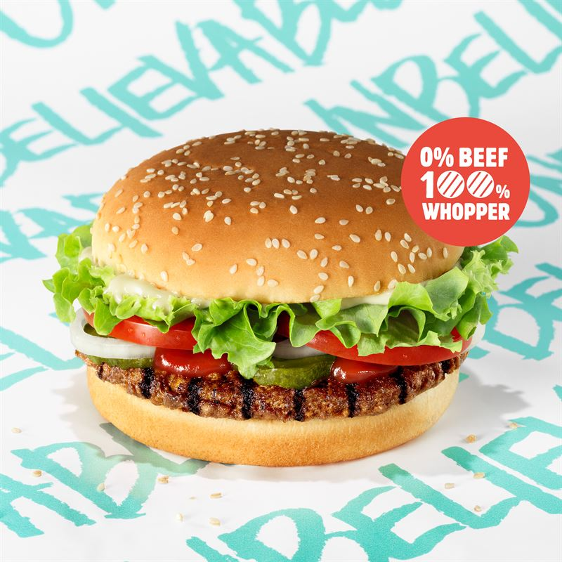 BURGER KING® RESTAURANTS LAUNCH PLANT-BASED BURGERS IN