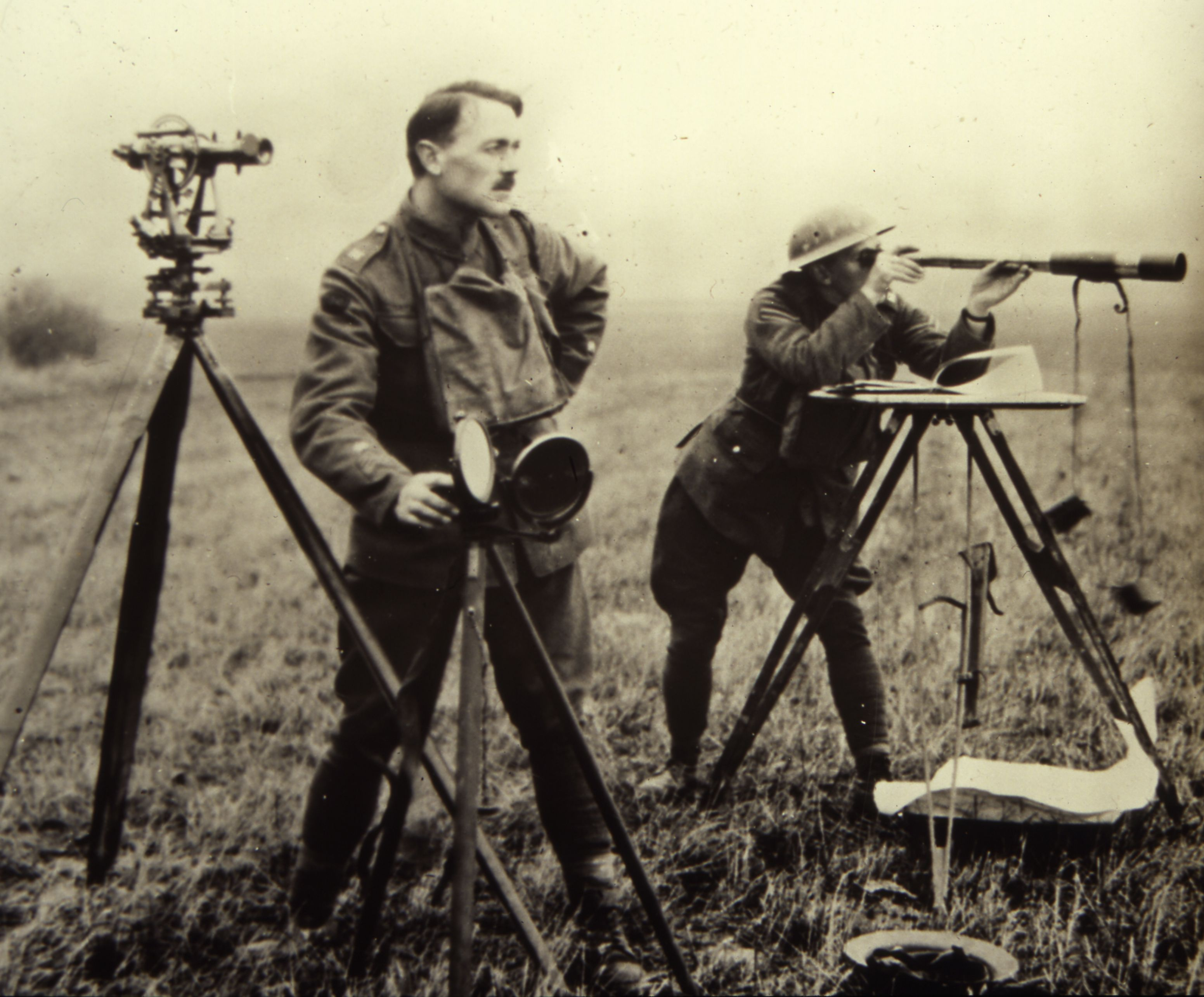 WW1 surveying - Ordnance Survey