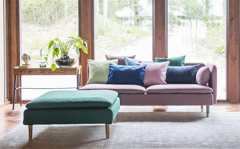 ikea soderhamn rose bemz bemz. Black Bedroom Furniture Sets. Home Design Ideas
