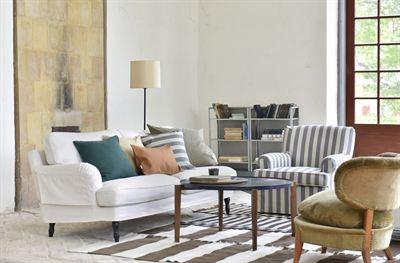 Förnya din IKEA soffa med hållbar bomull Bemz