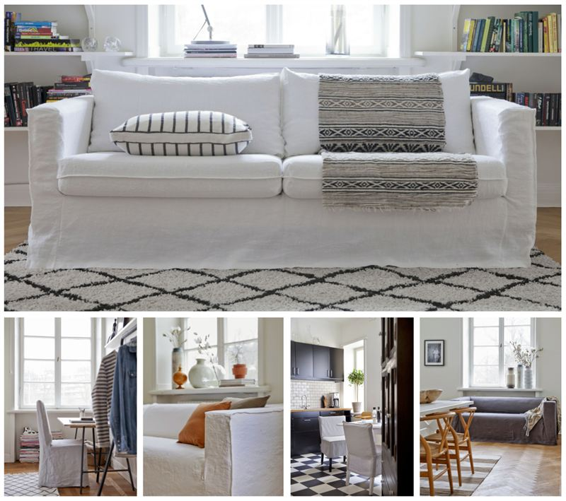 The Linen Cover That Transforms Your Sofa