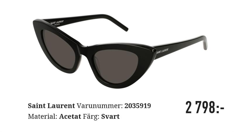 Håll koll på vårens och sommarens mode för solglasögon